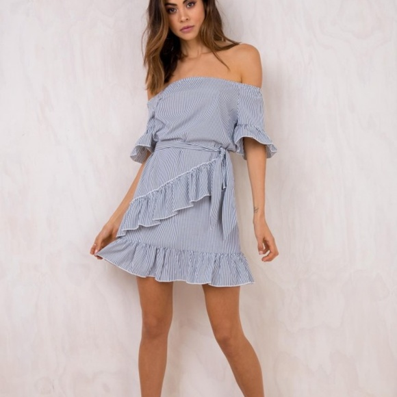 8d262d77b6a Princess Polly Dresses | Estelle Off The Shoulder Mini Dress | Poshmark